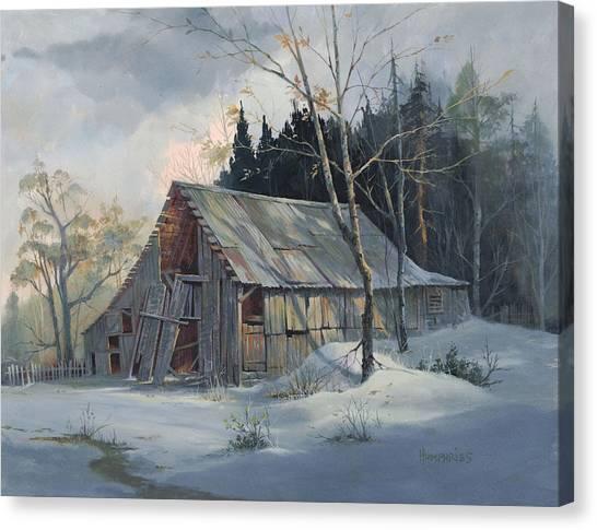 Weathered Sunrise Canvas Print