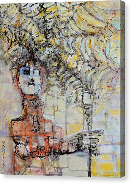 Web Of Memories Canvas Print