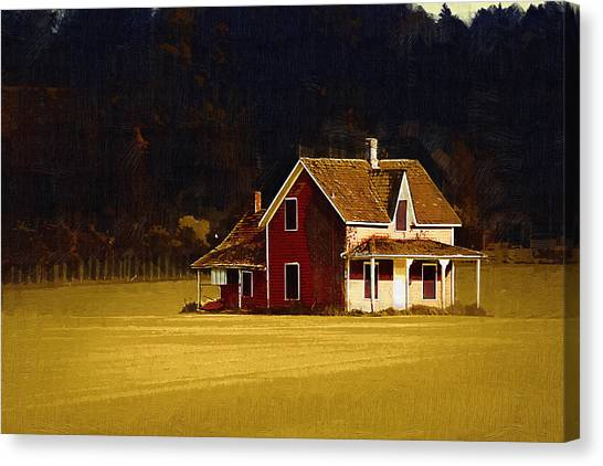 Wee House Canvas Print