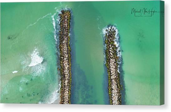 Weekapaug Breachway Canvas Print