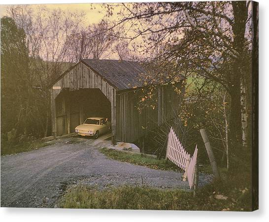 Weekend In New England Canvas Print by JAMART Photography
