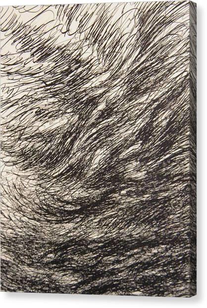 Weighty Canvas Print by Uwe Schein