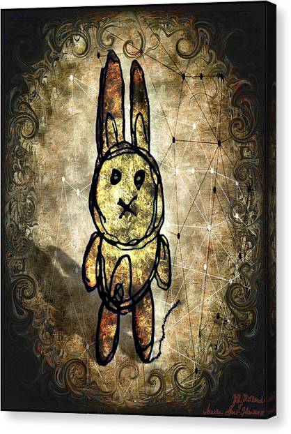 Weird Bun Canvas Print