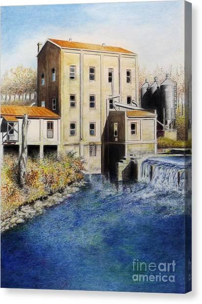 Weisenberger Mill Canvas Print