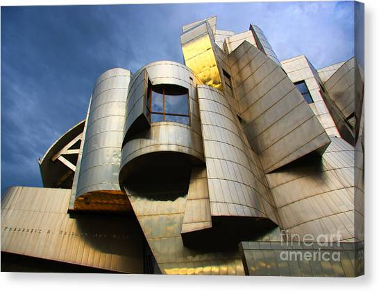 Weisman Art Museum University Of Minnesota Canvas Print