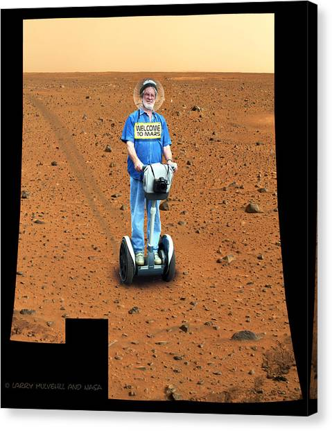 Welcom To Mars Canvas Print