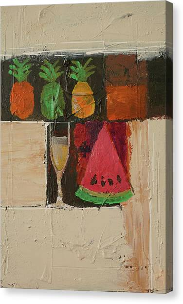 Melons Canvas Print - Welcome by Lutz Baar