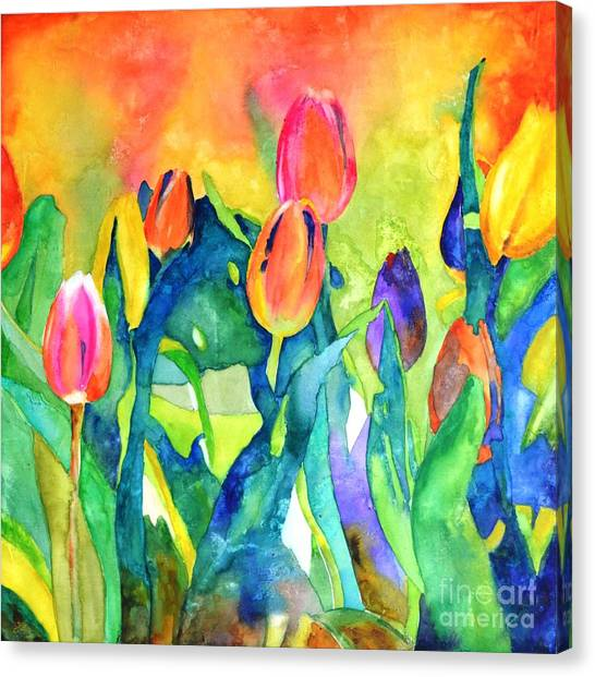 Welcome Spring #1 Canvas Print