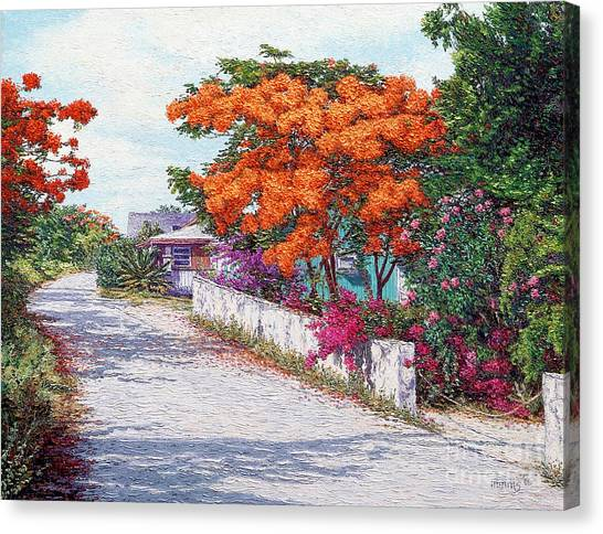 Eleuthera Art Canvas Print - Welcome To Current by Eddie Minnis