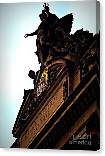 Welcome To Grand Central Canvas Print