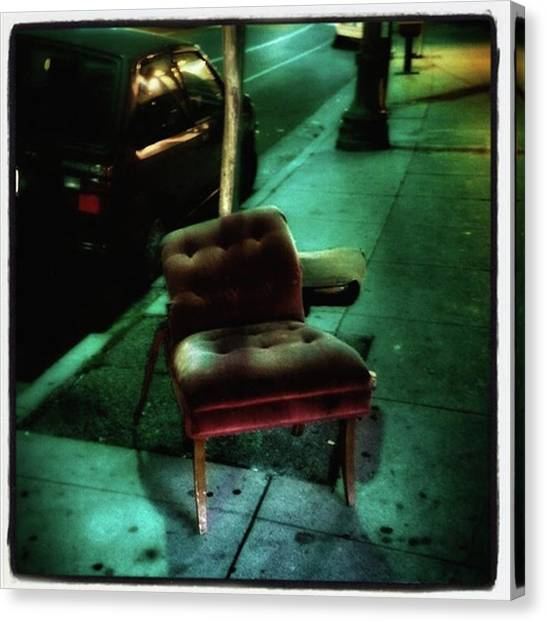 Canvas Print featuring the photograph Welcome To My Living Room, Pull Up A by Mr Photojimsf
