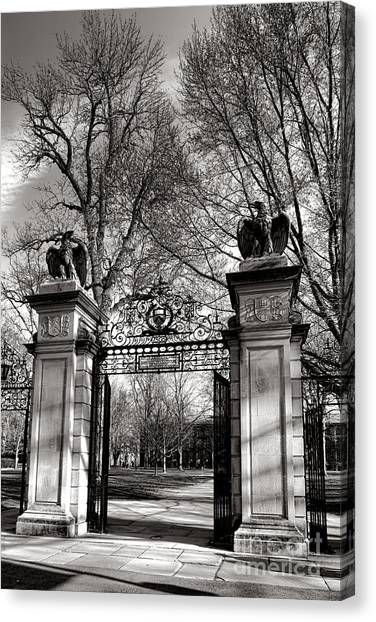 Princeton University Canvas Print - Welcome To Princeton University by Olivier Le Queinec