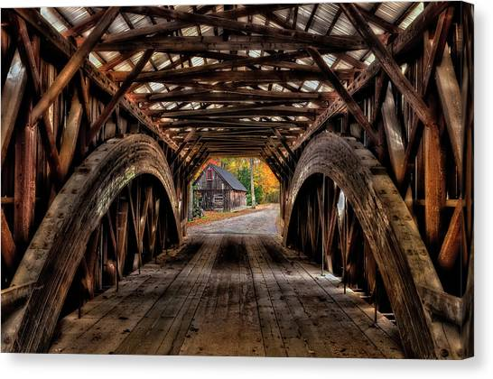 We'll Cross That Bridge Canvas Print
