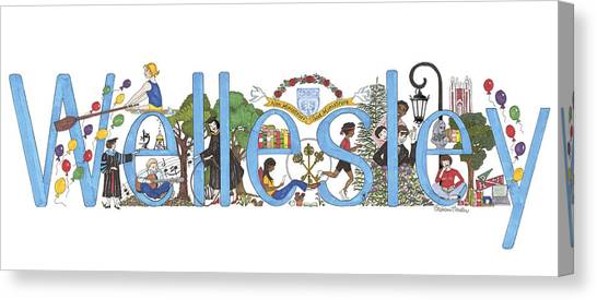 Wellesley College Canvas Print