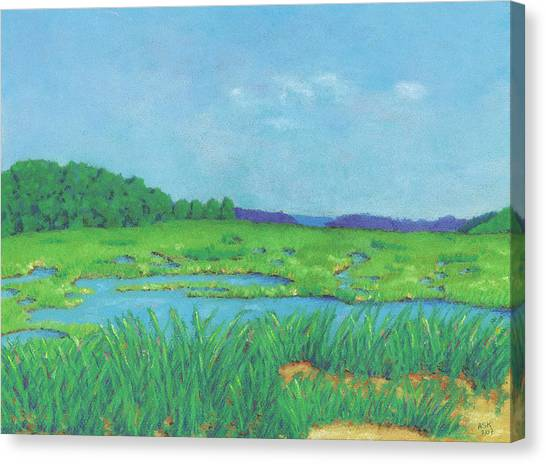 Wellfleet Wetlands Canvas Print