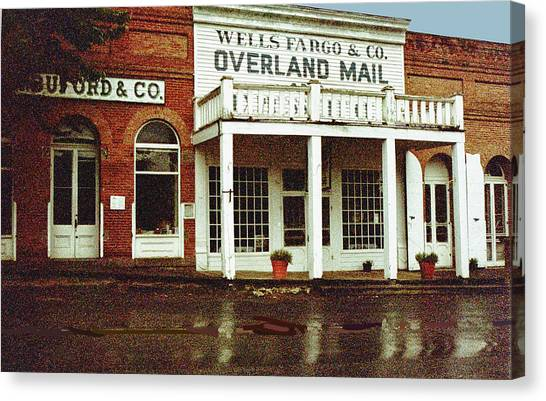 Wells Fargo Ghost Station Canvas Print