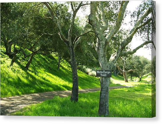 Wells Fargo Trail Canvas Print