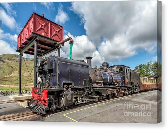 Steam Trains Canvas Print - Welsh Highland Railway by Adrian Evans