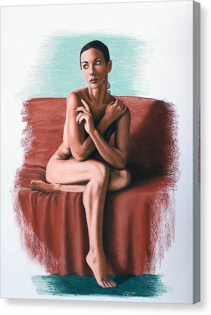 Wenona  Exposed Canvas Print