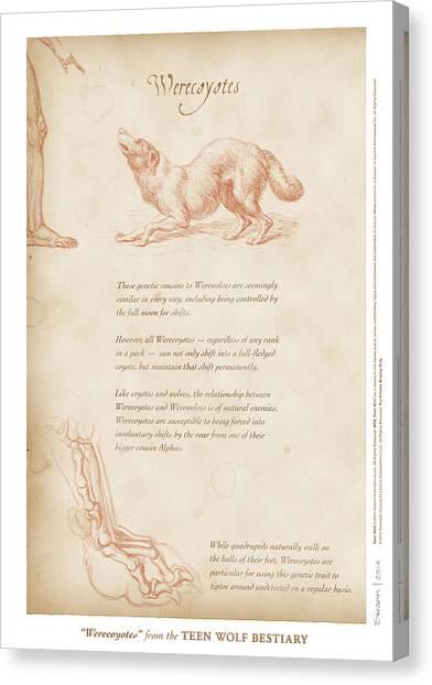 Werecoyotes Canvas Print