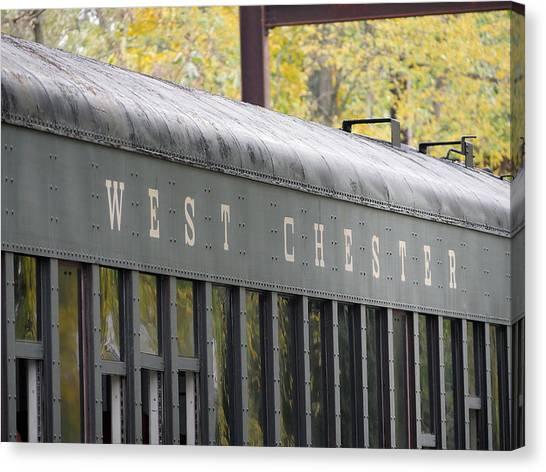 West Chester Railroad - Passenger Car Canvas Print