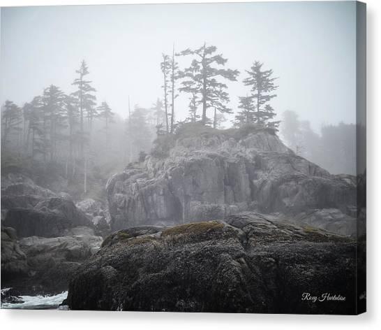 West Coast Landscape Ocean Fog IIi Canvas Print
