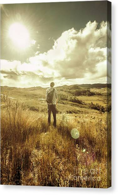 Tourist Canvas Print - West Coast Tasmania Explorer by Jorgo Photography - Wall Art Gallery