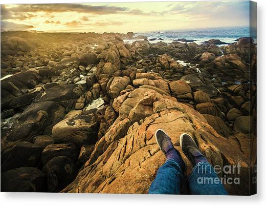 Backpacks Canvas Print - West Coast Tasmania Sightseeing Tour by Jorgo Photography - Wall Art Gallery
