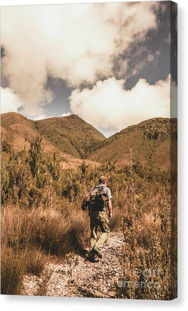 Backpacks Canvas Print - West Coast Tasmania Traveller by Jorgo Photography - Wall Art Gallery