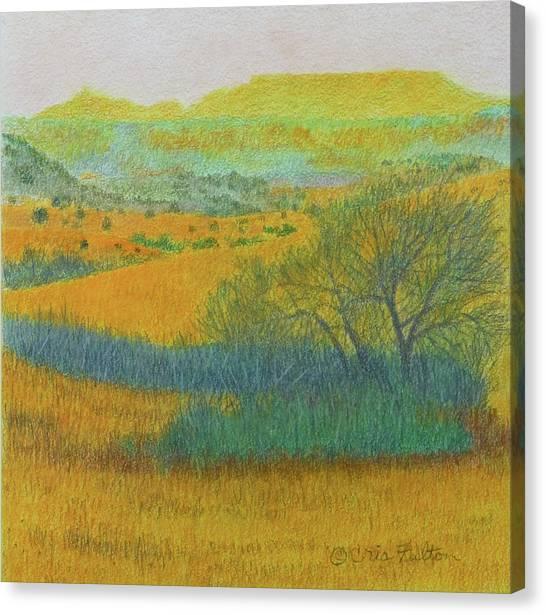 West Dakota Reverie Canvas Print