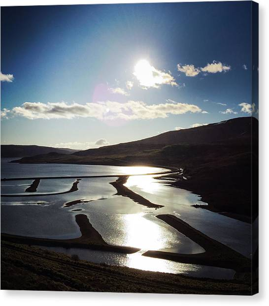 Landscapes Canvas Print - West Fjords Iceland Europe by Matthias Hauser