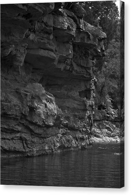 West-fork White River Canvas Print