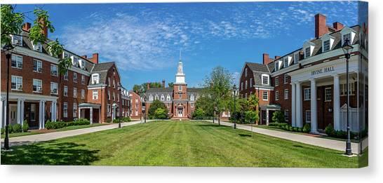 Ohio University Canvas Print - West Green, Ohio University by Robert Powell