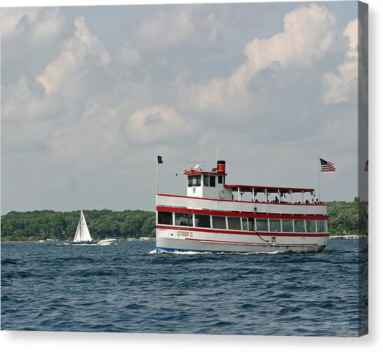 West Lake Queen Ll Canvas Print