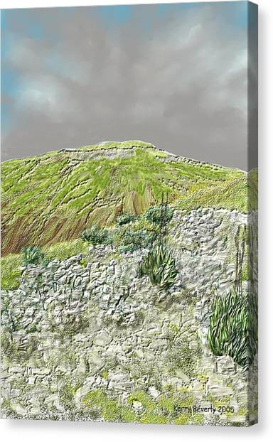 West Of The Hill Country Canvas Print