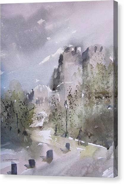 West Point Thayer Road Canvas Print
