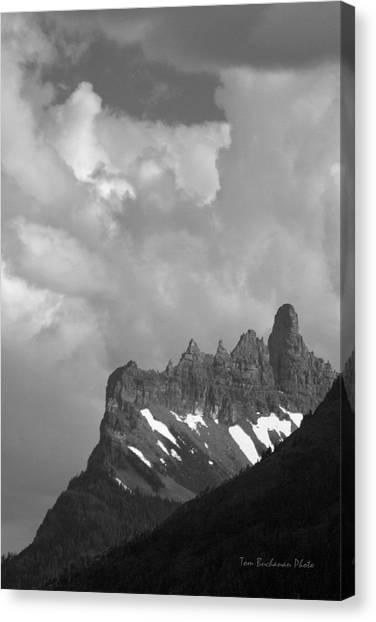 West Porcupine Ridge Canvas Print