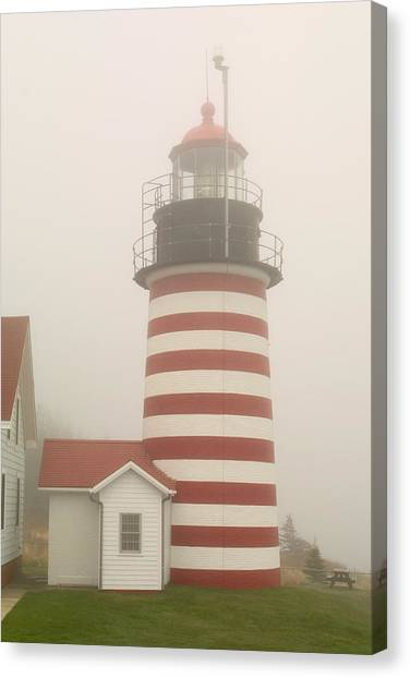 West Quody Head Lighthouse Canvas Print
