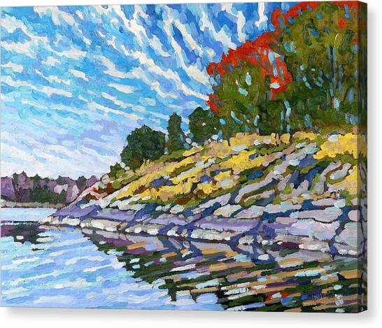 West Shore Canvas Print