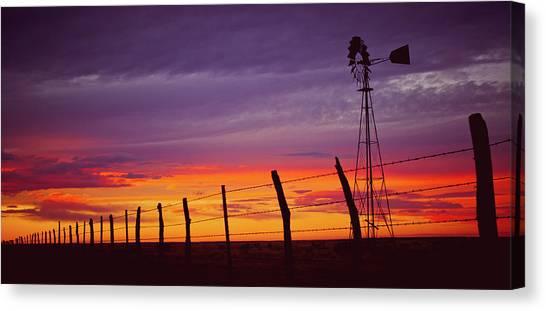 West Texas Sunset Canvas Print