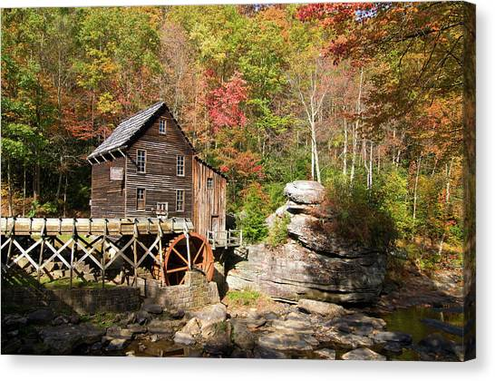West Virginia Mill Canvas Print