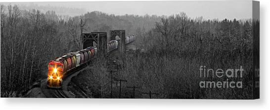 Westbound Grain Canvas Print