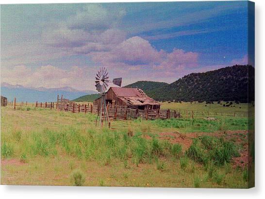 Westcliff Colorado Canvas Print