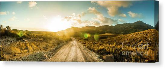 Countryside Canvas Print - Western Way by Jorgo Photography - Wall Art Gallery