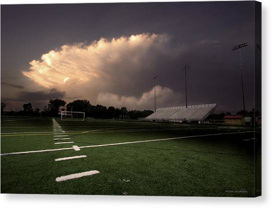 Westerville North Warrior Stadium Canvas Print