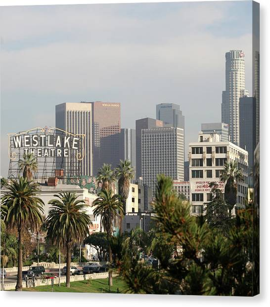 Westlake, Los Angeles Canvas Print