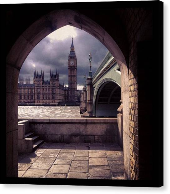 Big Ben Canvas Print - Westminster Bridge by Nick Beatty