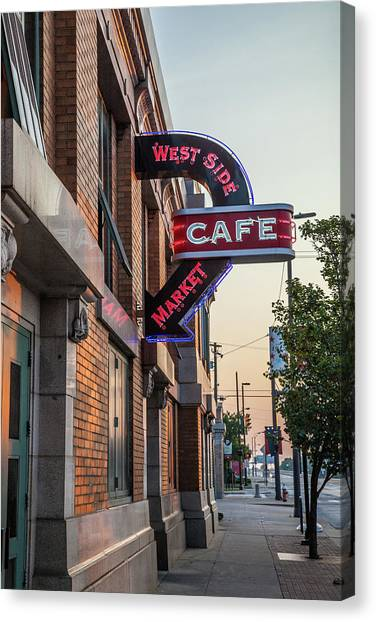 Westsidemarketcafe Canvas Print
