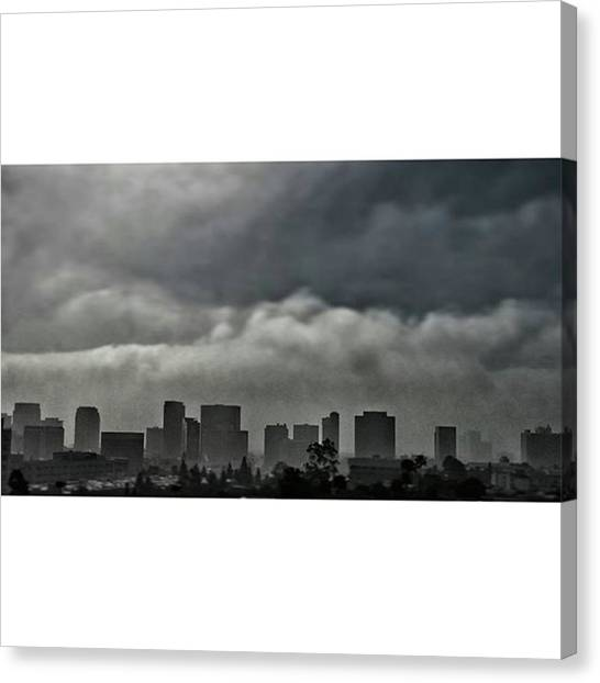 Ucla Canvas Print - #westwood #ucla #buildings #sky by Andrei Andries