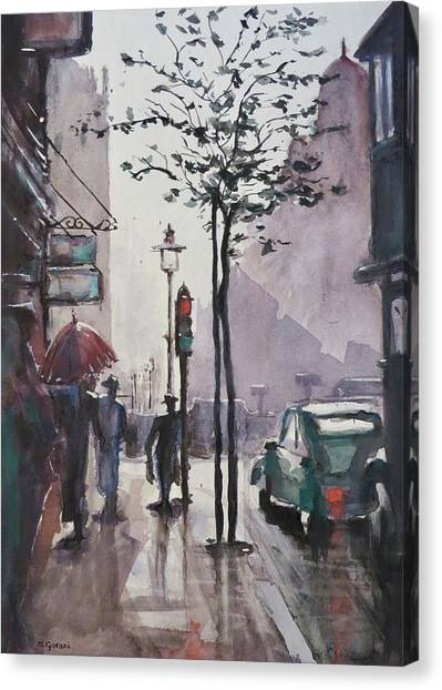 Wet Afternoon Canvas Print